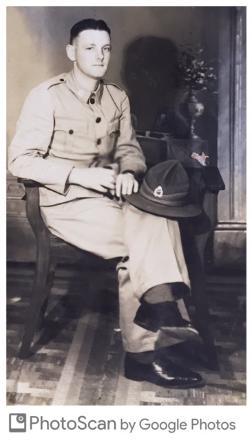 Pvte J R Stirling #18490 taken in 1941