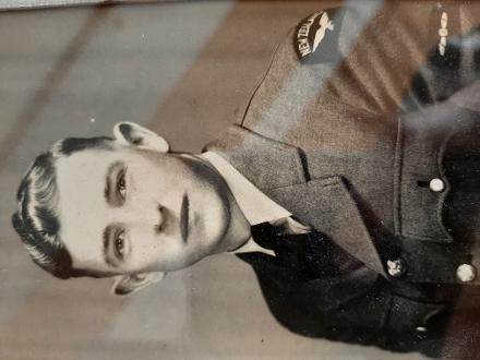 This image was sent by Wilf to his parents in New Zealand early on in his enlistment.