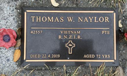 Plaque at Karoro Cemetery, Greymouth