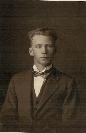 Charles as a young man