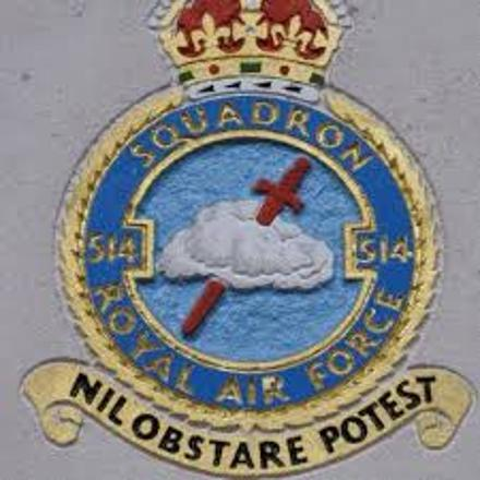 514 Squadron RAF Badge.