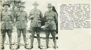 Members of the Otago Mounted Rifles taken 1915 - D Covell, B Olliver, B McLeod & C Parkinson - No known copyright restrictions.