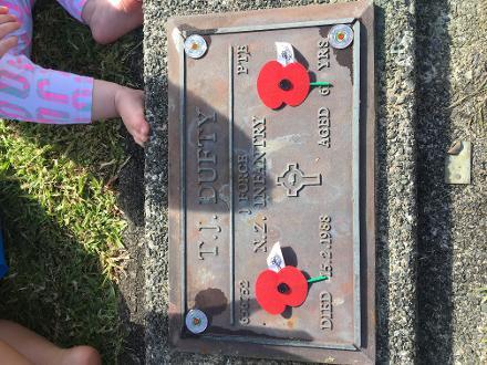 my grandads grave