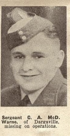 Sergeant C A McD. Warne - of Dargaville.