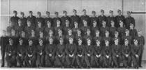 MUS97046  Group. Pilots course 14b, No. 3 Elementary Flying Training School, RNZAF Station Harewood. 22/5/1941.  L-R: Back; Tanner, Thorpe, Preston, Kleimeyer, Jones, Gilbert, Baigent, Jacobsen, Jurgens, Crump, Dillon, Chapman, Everett, Goodall.  3rd row: Lucas, Tucker, Ninnes, Connor, Miller, Sara, Lloyd, Murdoch, Hinde, Rishworth, McCullough, Mullooly, Rayner, Marshall.  2nd row; Corby, Roberts, Wallace, Newlove, Nicol, Mildon, Murphy, McHugh, Leckie, Chancellor, Tolley, Melbourne, Jackson, Moon, Mulholland.   Front; Campbell, Sclater, Polkinghorne, Schrader, Horne, Tahiwi, Jenkins, Arkley, Browne, Blair, Barry, Fallows, MacKinnon, Hamilton.  - All rights reserved.