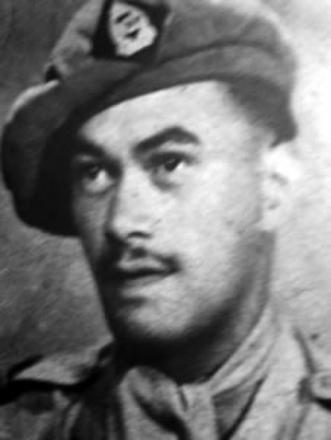 Private Heremia Haenga, who embarked with the 11th Reinforcements. He was wounded once.