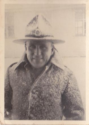 S/Sergeant Henley, Waiouru Military Camp 1942