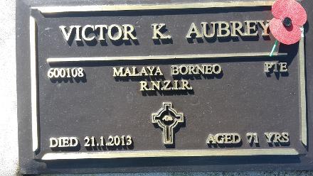 600108 Victor.K. AUBREY
