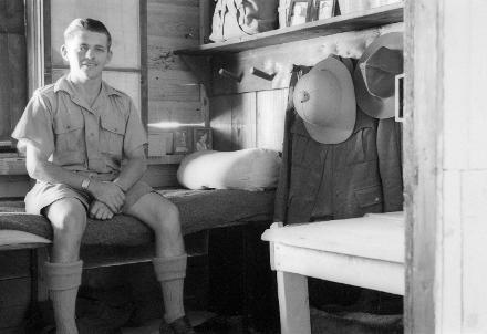 Dennis at Maadi Camp, around 1941
