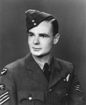 Noel Brinsley, taken in London, 1944-45