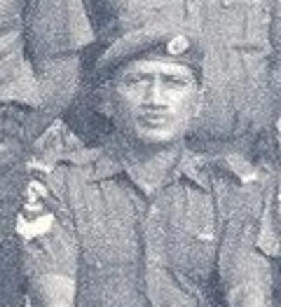 Q37228  Cpl Fred RAWIRI - Assault Pioneer Platoon 1971