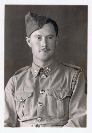 Photo taken during war service in Egypt.