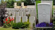"grave at Dieppe - Image may be subject to copyright restrictions. <a href=""mailto:kelvinyoungs@mac.com"">kelvinyoungs@mac.com</a>"