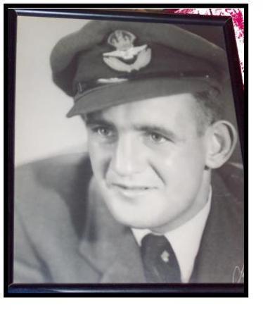 RNZAF photo of Robert Watson Paterson (Aka Robin)