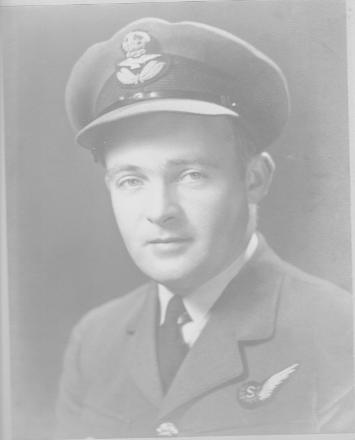Henry (known as Harry) B Huddleston member of NZRAF, trained in Canada, flew with the RAF Lancaster Bombers in England over Germany.