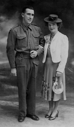 Marriage of Len and Pru Fenton