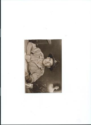 Dad in Cairo WW2