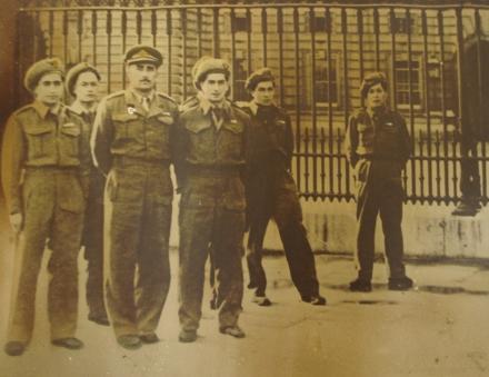 Buckingham Palace 1945
