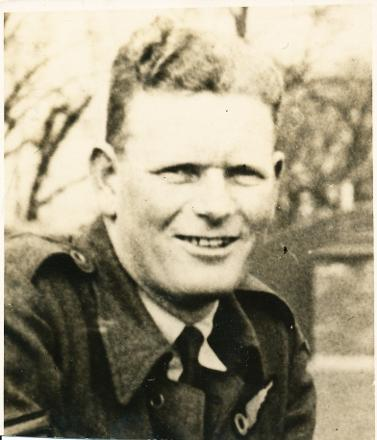 Taken in 1940 when on leave
