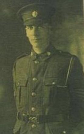 Image if from his a small card issued at his funeral