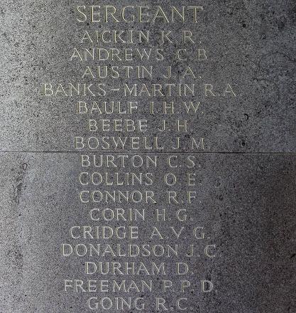 John's name is inscribed inside Runnymede Memorial.