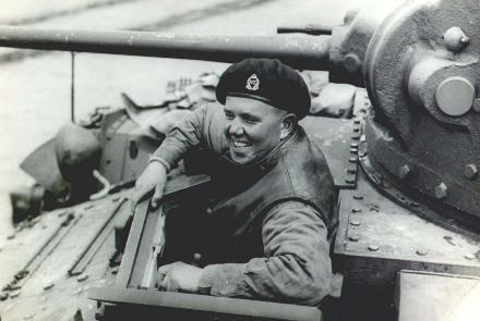Godfrey von Dadelszen Divisional Cavalry, 2 NZEF, 1st Echelon circa 1943