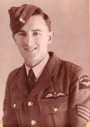 In uniform