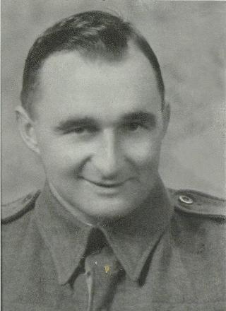 Photo taken in 1939 before going overseas.