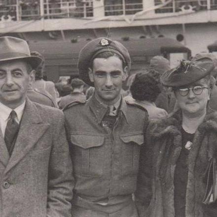 Norman Patrick Bouzaid, and his parents Peter and Linda Bouzaid .