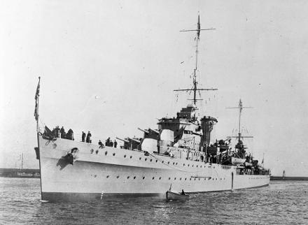 HMNZS Achilles was a Leander-class light cruiser which served with the Royal New Zealand Navy in the Second World War, the second of five in the class.