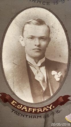 MOSGIEL LODGE MEMORIAL BOARD PHOTO
