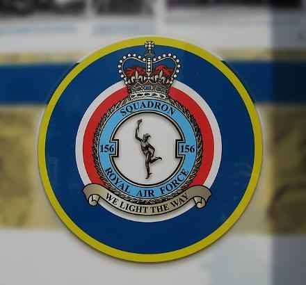 156 Squadron  RAF Badge