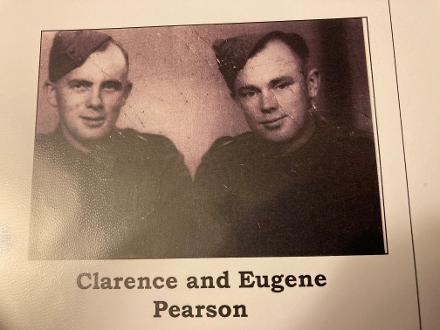 Clarence WW2 76473 and his Brother Eugene WW2 76472 - consecutive numbers.