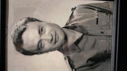 Portrait photo of Private A.T.O Anderson