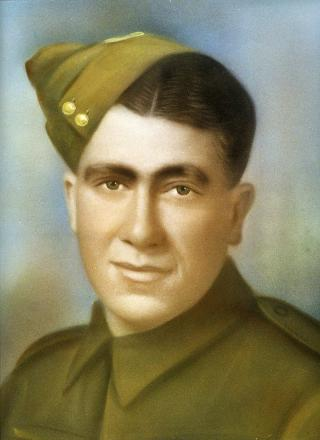 Private Barney Kirk, who embarked with the 10th Reinforcements. He was wounded once.