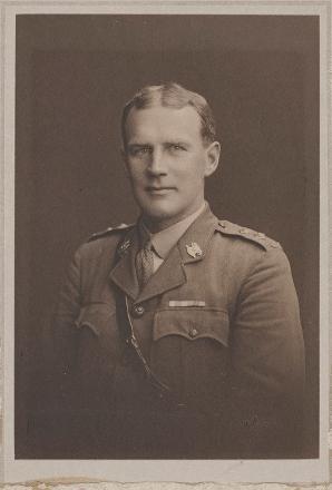 Lieutenant Leonard Parkinson - Canterbury Mounted Rifles