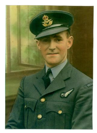 SERVICE PHOTO 1943 NEW ZEALAND AIRFORCE