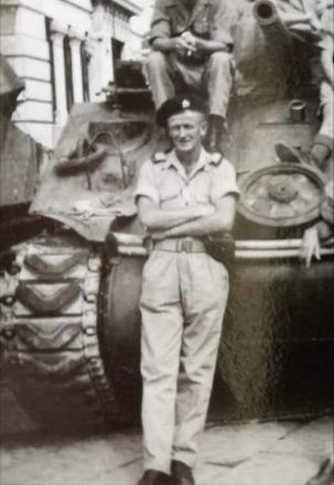 LCPL Jack Brady and comrades