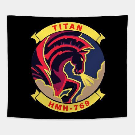 Fleet Air Arm (FAA) 769 Squadron Badge.