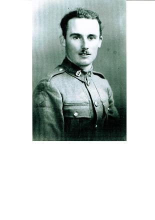 Portrait of Thomas beginning of WW11