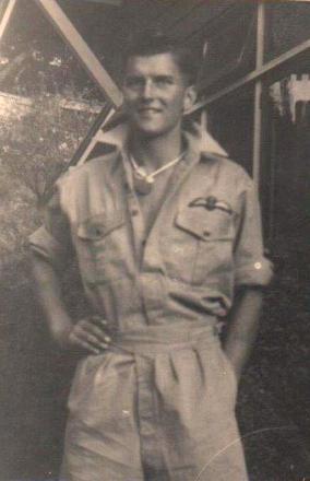 James Denholm in uniform