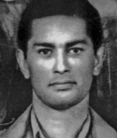 Photo on enlistment 1942