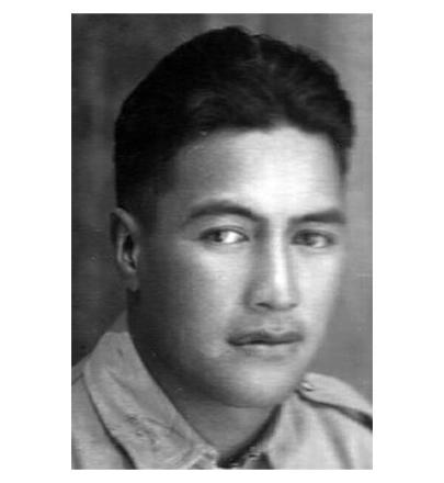 Private Karangawai Apanui, who embarked with the 4th Reinforcements. He was wounded twice.