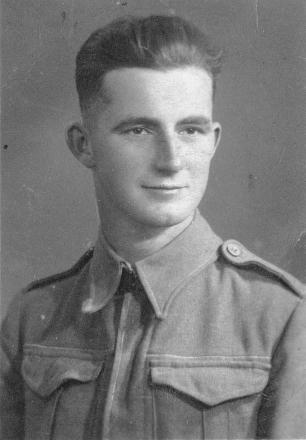 Young Norman before going off to WWII