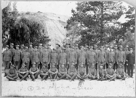 New Zealand Rough Riders 3rd Contingent in South Africa, during the South African War
