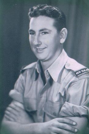 James John Thorpe in his army uniform, 1941. Family photograph.