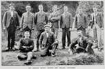 Gisborne's members of the 7th Contingent J Hanlon # 4176, C J Denny , T F Carlyle, N Law, P W Teesdale, W Parker, W L Cato, D Buckley, E A Guilford, T R Porter   - No known copyright restrictions.