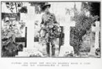 "Caption in Auckland Weekly News reads : ""Flowers for every New Zealand soldier's grave in Cairo: Anzac Day (1917) commemorated in Egypt"" - No known copyright restrictions."