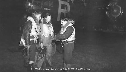 L-R Durrant RNZAF, Streeter RAFVR and Ken Sutton RNZAF