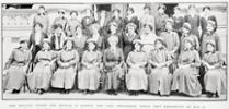 The nurses names (but not identified) were: Marie M Cameron, Catherine Clark, Lucy McLoead, Edith McLeod, Florence Murray, Pheobe Reynolds, Susan Nichol, Catherine Blackie, Ina Coser, Mary O'Connor, Mabel Wright, Hilda Hooker, Mary Gould, Edith Wilkin, Lily Eddy, Mary Christmas, Emily Hodges, Jessie Lewis, Elsie Owen, Elizabeth Young, Constance Brigham, Rose Newdick, Clara Cherrie, Mary Grigor, Ella Stokes, Annie MacLean, Mary Gorman, Jennie Sinclair, Phyllis Humphries, Florence Valentine, Florence Gill - No known copyright restrictions.